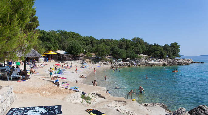 Beach Jert - Pinezici, Krk